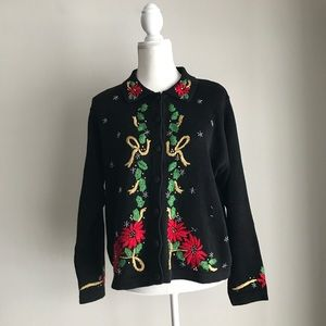 Vintage Victoria Jones Ugly Christmas Sweater Med